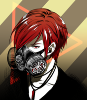 AT: Gasmask by chisachan2010