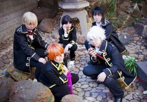 COS: Yorozuya + Shinsengumi by Chancake