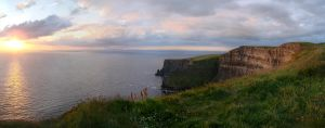 Cliffs of Moher by Ahyicodae