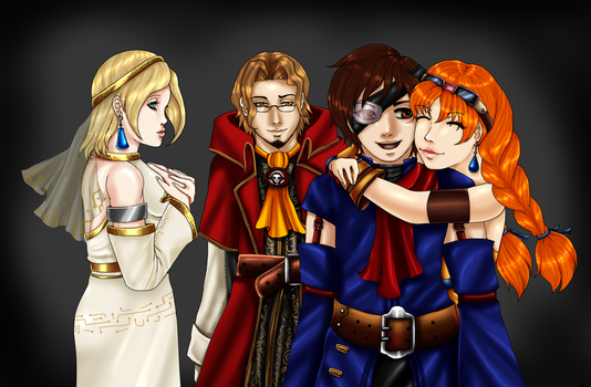 SS-Reunited by LadyNoise