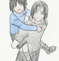 Sasuke And Itachi by kellyyllek2