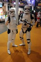 3th and 4th generation storm troopers by damenster