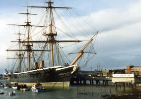 HMS Warrior 1 by Skoshi8