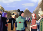 Audience with the Hokage by e-nat