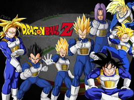Wallpaper Dragon Ball Z || TheGraphicsArts - Nola by TheGraphicsArts