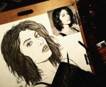 Maggie Greene  by RoughRaven