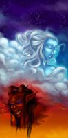 life and death by Elixia-Dragmire