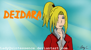 Deidara-In the Sky by LadyQuintessence