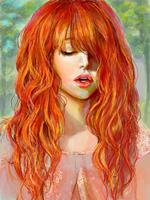 Red Head by ahobaga