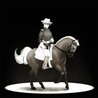 Cavalry officer by SilvesterVitale