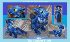 Carlow the Centaur Plush - Commission by Forge-Your-Fantasy