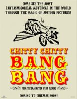 Chitty Chitty Bang Bang Poster by darthy13
