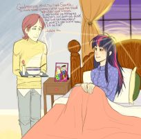 Butterscotch and Sick Twilight by FioneThePone