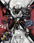 X-Men - From Comics To Screen by happydragonpictures