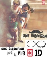 One Direction Pack de png by maarii03189
