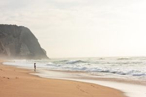Praia Grande by thespiritcarrieson