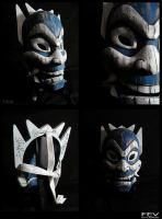 Blue Spirit Mask by fevereon