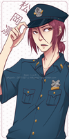 fa: Free! ES : Officer Rin by 7-8jf