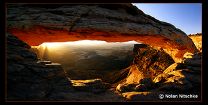 Mesa Arch Panorama by narmansk8