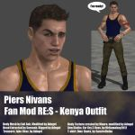 Piers Nivans Fan Mod RES Kenya Outfit by Adngel