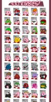 Kirbies by VGCScott