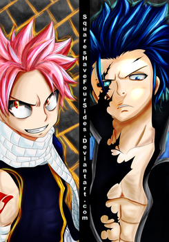 Fairy Tail 427 --- Natsu vs Gray by SquaresHaveFourSides