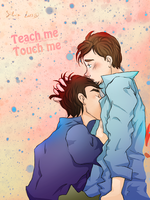 teachmetouchme Kurtbastian by ilcielocapovolto