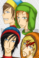 SouthPark Boys 8D by SadakoSam