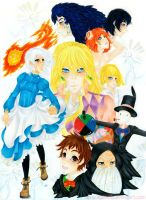 Howls moving castle by Gigibell