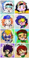 Kawaii Rogues by Waterwindow