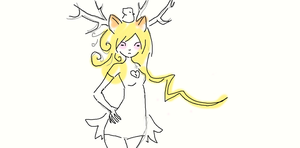 I drew this with a mouse don't hate meh! by haymakers
