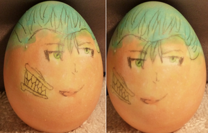 Grimmjow Egg by PJpup