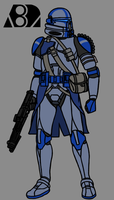 82nd Airborne Clone Paratrooper by PD-Black-Dragon