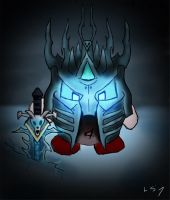 Kirby as The Lich King by LukeSimms