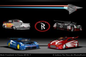 My Cars Poster by ragingpixels