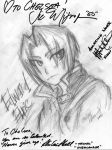Vic Mignogna - EDWARD ELRIC by elricest-love