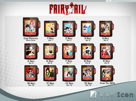 Fairy Tail Icon Pack by GianMendes