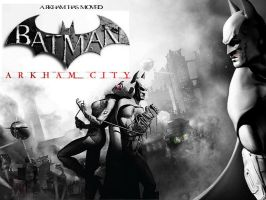 Batman: Arkham City Wallpaper by Ryuk124