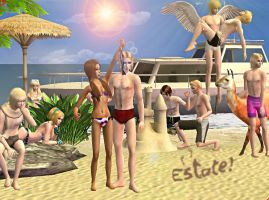 APH - Summer Time sims 2 by CSItaly
