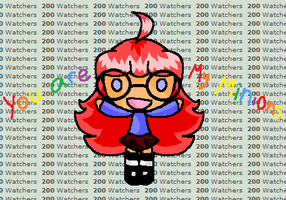200 Watchers by Averylilith