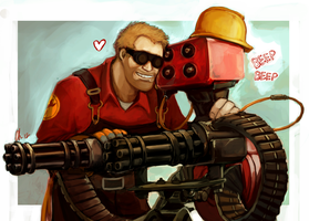 TF2 30 day Challenge Day 1 by The-Keyblade-Pony