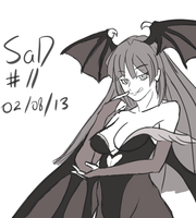 SaD#11 Morrigan by dudeunderscore