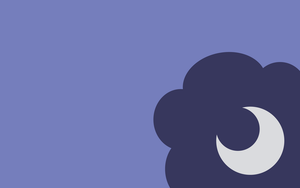 Wallpaper - Simple Luna by ooklah