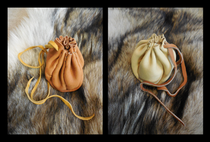 Handmade Leather Bags [For Sale/Commission] by Saceronsage