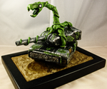 Terror Tank sculpture by OniPunisher