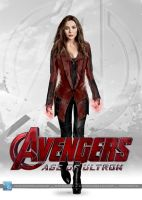 Avengers - Age of Ultron: Scarlet Witch (v. 2.0) by SilentArmageddon