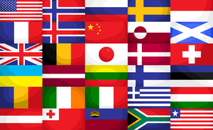 Flags of the World by tattoartist9
