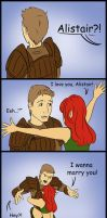 Dragon age: Alistair Marry me by Aztarieth