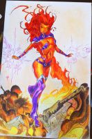 Starfire by owlcreator