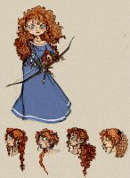 Merida. by NachosNcheese